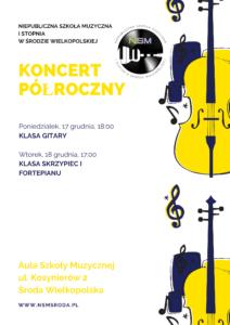 , Koncert Półroczny uczniów NSM