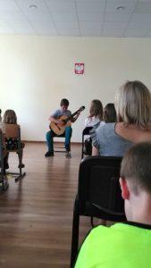 , Występy uczniów klasy gitary oraz wokalno-instrumentalne uczniów zajęć teoretycznych