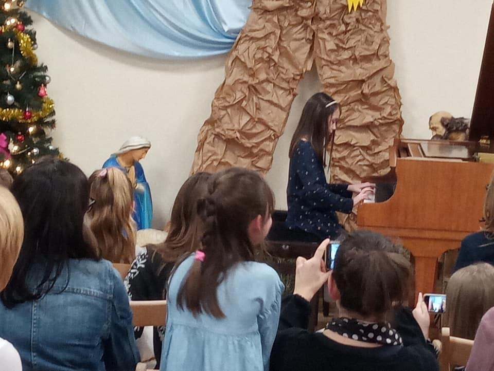 , Koncert uczniów klasy fortepianu i skrzypiec