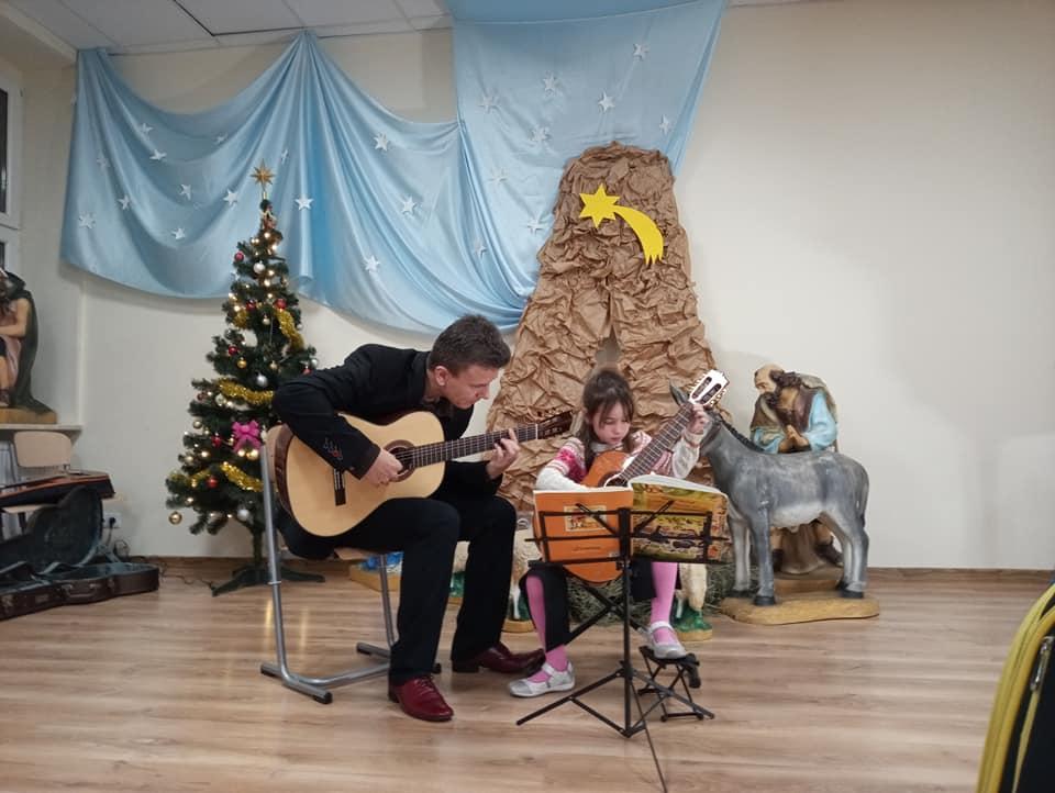 , Koncert uczniów klasy gitary