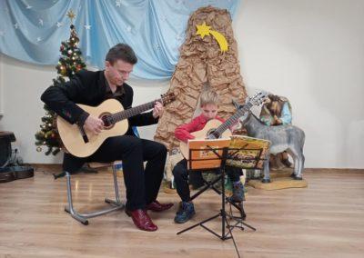 Koncert uczniów klasy gitary