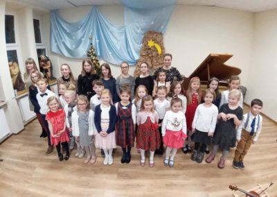 Koncert uczniów klasy fortepianu i skrzypiec